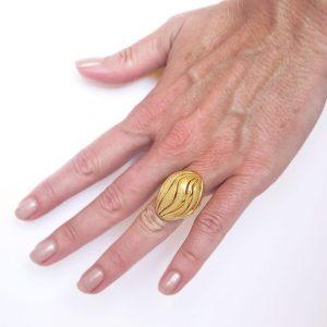 beautiful wave rings nature jewelry