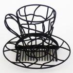 fascinator 3D printed hat