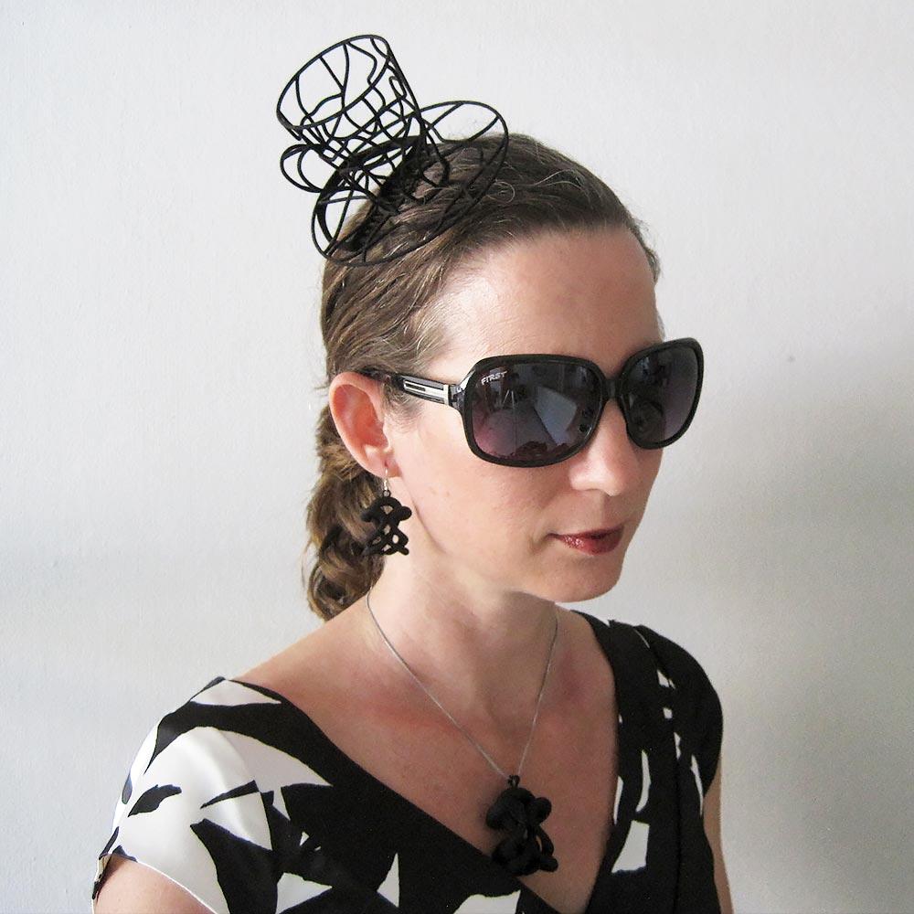 fascinator hat mini hat