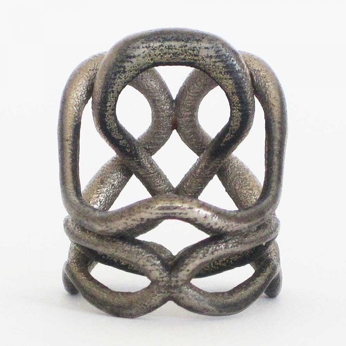 unique statement ring 3D printed