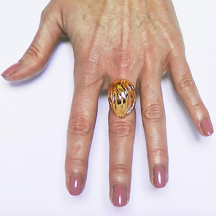 gold ring ocean