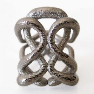 one of a kind silver infinity rings