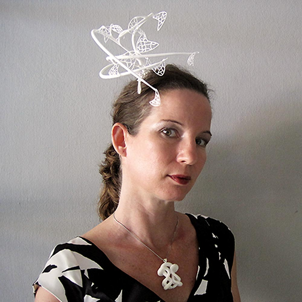 wearable art fascinator hat
