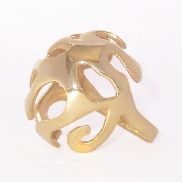 nature jewelry statement ring