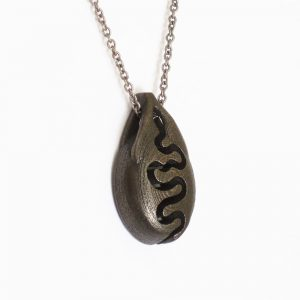 nature jewelry river pendant necklace