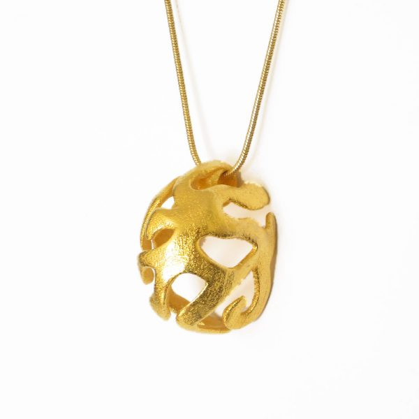 pendant necklace inspired by nature