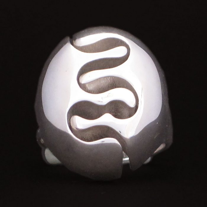 silver rings river nature jewelry