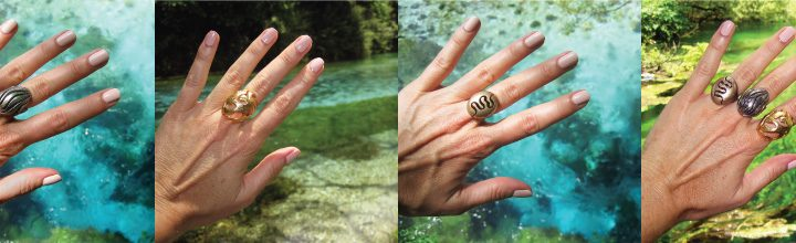 Nature Jewelry Inspired by Water:  A Trip to the Blue Eye in Albania