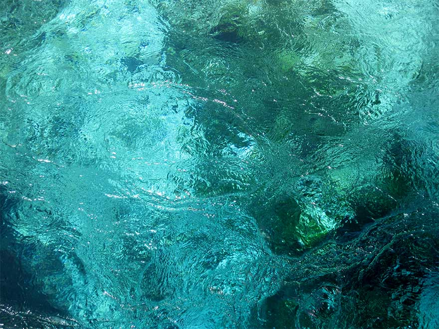 water spring nature blue eye