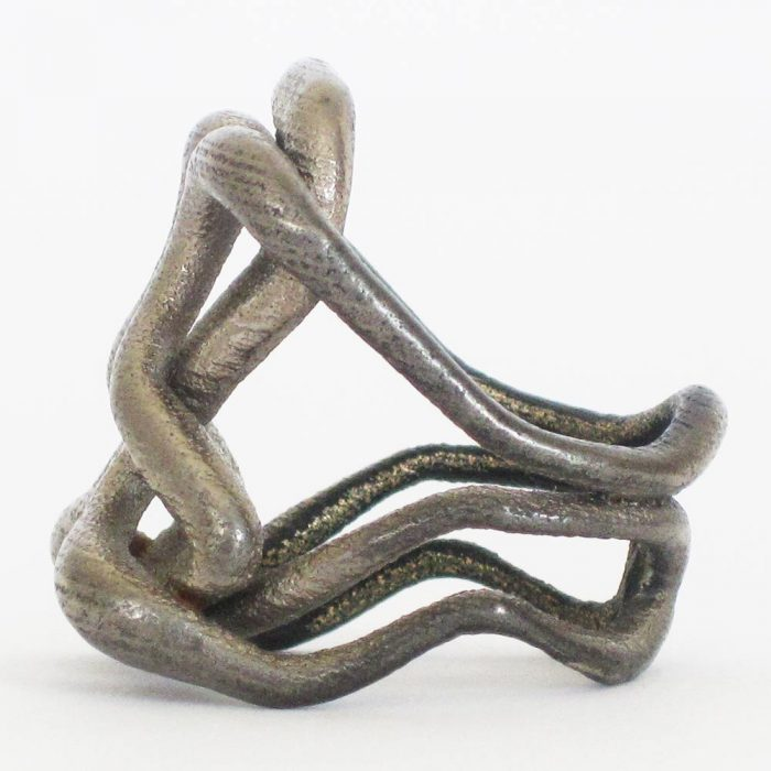 unique infinity rings in steel