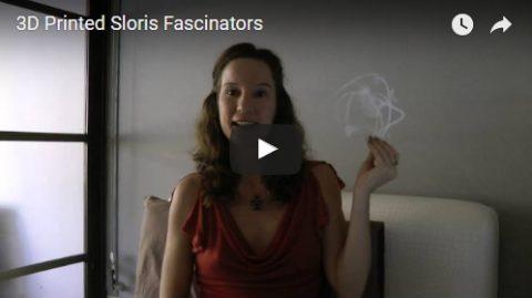 3D printed fascinators video by Sloris