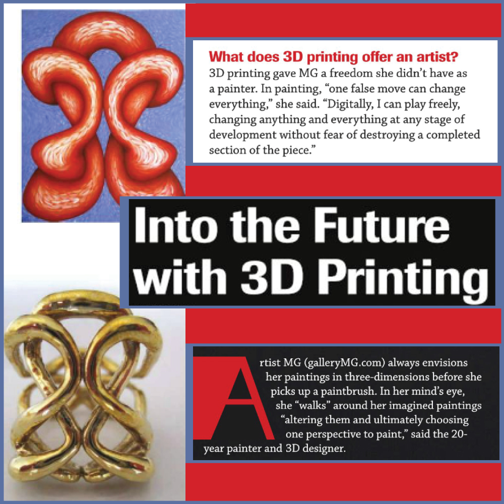 Into the future with 3D printing article screenshot