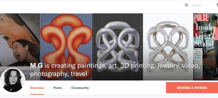 Patreon:  Connect with Amazing Artists Creating Oil Paintings, 3D Printing, YouTube Videos, Podcasts and More!